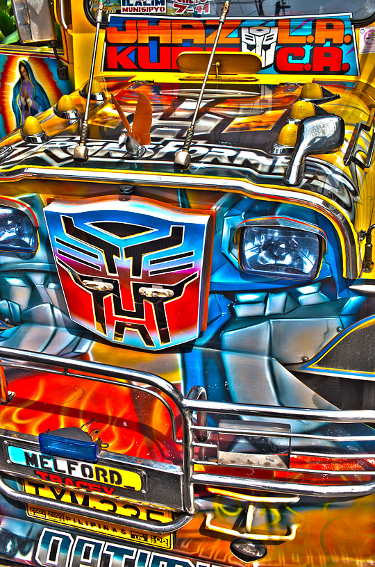 jeepney hdr Photographing Manila as an expat