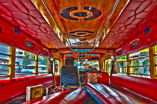 jeepney inside 540x359 Disco Jeepney