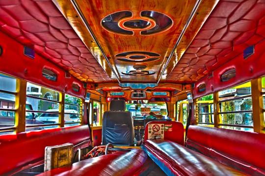 jeepney inside 540x359 Disco Jeepney