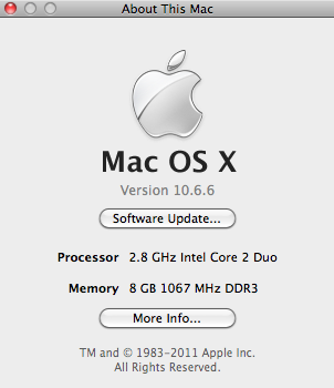Screen shot 2011 01 13 at 8.36.48 PM How to start up a Mac in 64 bit kernel for increased performance
