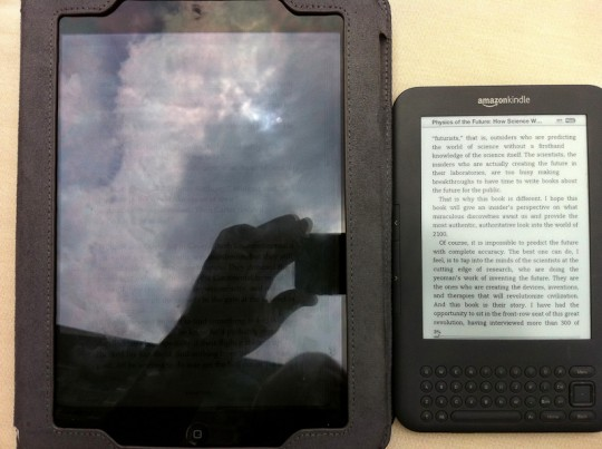 IMG 0498 540x403 Kindle vs iPad for reading outdoors