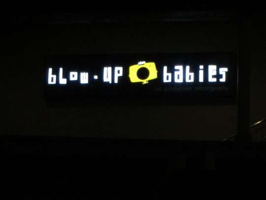 IMG 1638 540x405 Blow Up Babies: Quite possibly the most inappropriate name for a business? [photo]