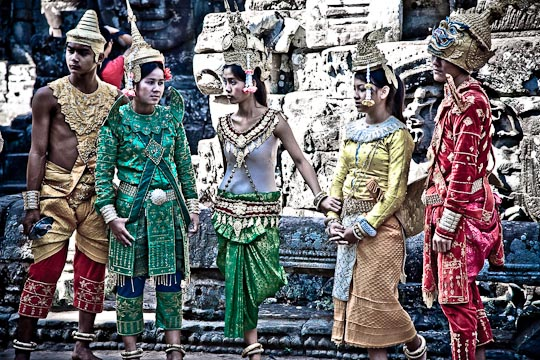 IMG 7888 Cambodian costumes