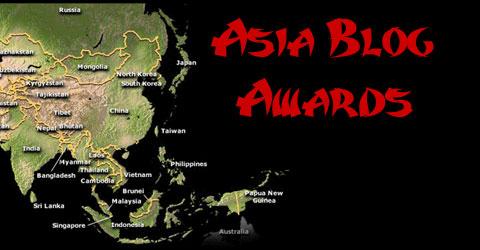 asia awards Asia Blog Awards