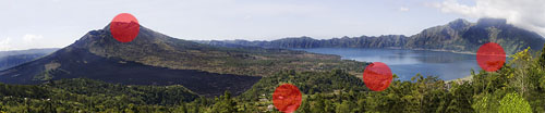 batur 500 redpx Creating panoramic photos in Photoshop