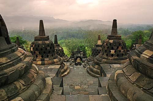 revisited Borobudor Untitled