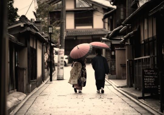 Rain in Gion