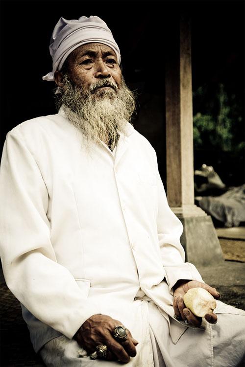 Balinese elder